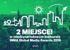 "Nagroda INMA Global Media Awards 2016 dla ""Pracowni miast"""