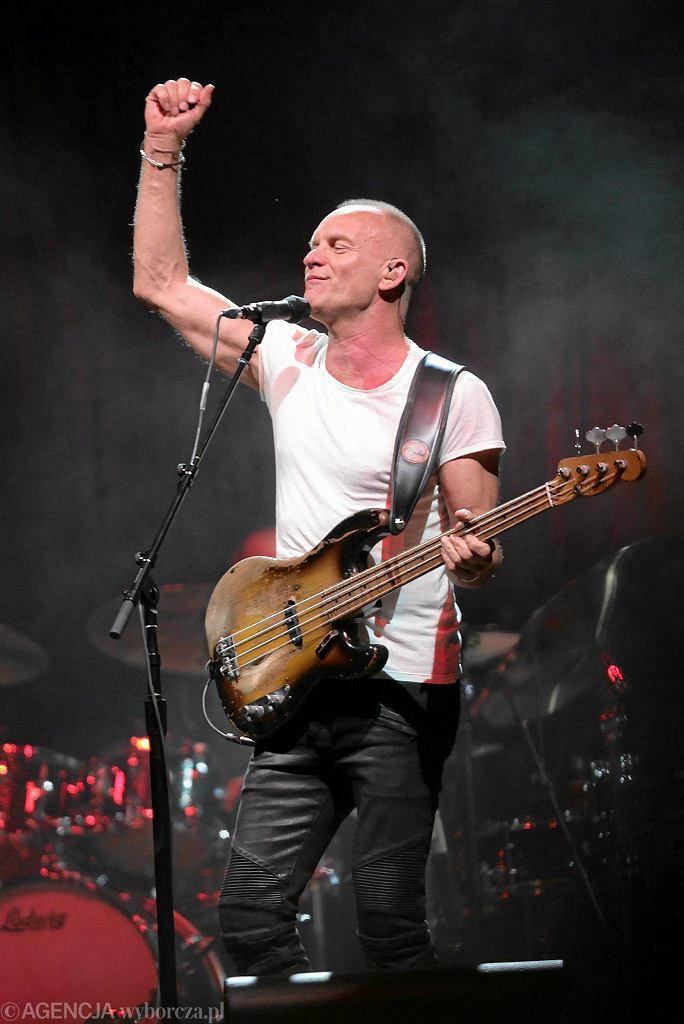 Sting  zagra 12 października w krakowskiej Tauron Arena / JAKUB OCIEPA