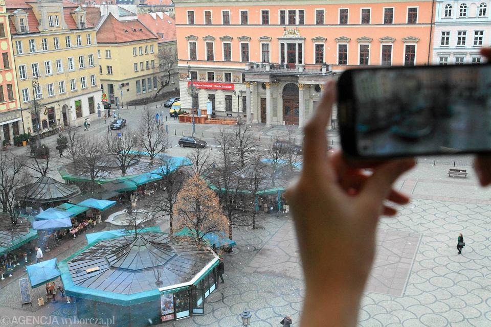 śnieg We Wrocławiu Czy To Już Zima Prognoza Pogody Zdjęcie Nr 1