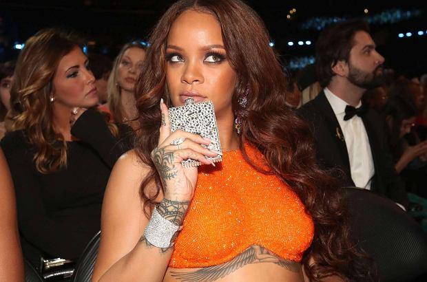 Rihanna może nie zdobyła w tym roku żadnej statuetki Grammy, ale jej zachowanie na gali zasłużyło na oddzielną nagrodę: najbardziej wyluzowanej gwiazdy.