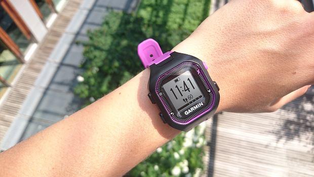 Garmin Forerunner 25 - zegarek z GPS nie tylko dla początkujących