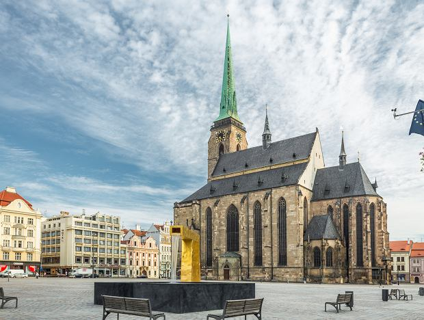 Katedra św. Bartłomieja z najwyższą wieżą przykatedralną w Czechach
