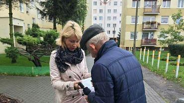 Zbiórka podpisów w sprawie protestu przeciwko zmianie nazwy ulicy Alejnika