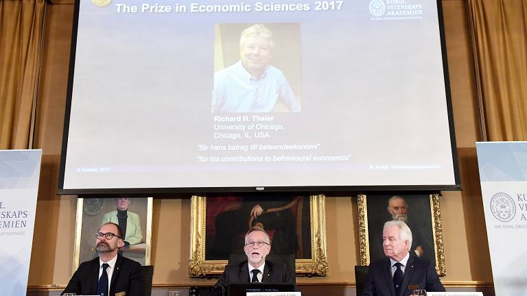 Ogłoszenie laureata Nagrody Nobla z ekonomii