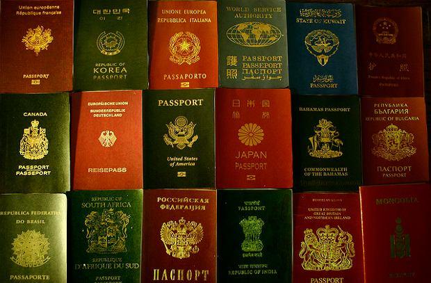 Paszporty z całego świata