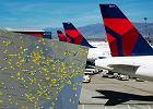 """""""Nie jestem gotowy na kemping..."""". Pasażerowie utknęli na lotniskach po wielkiej awarii Delta Air"""