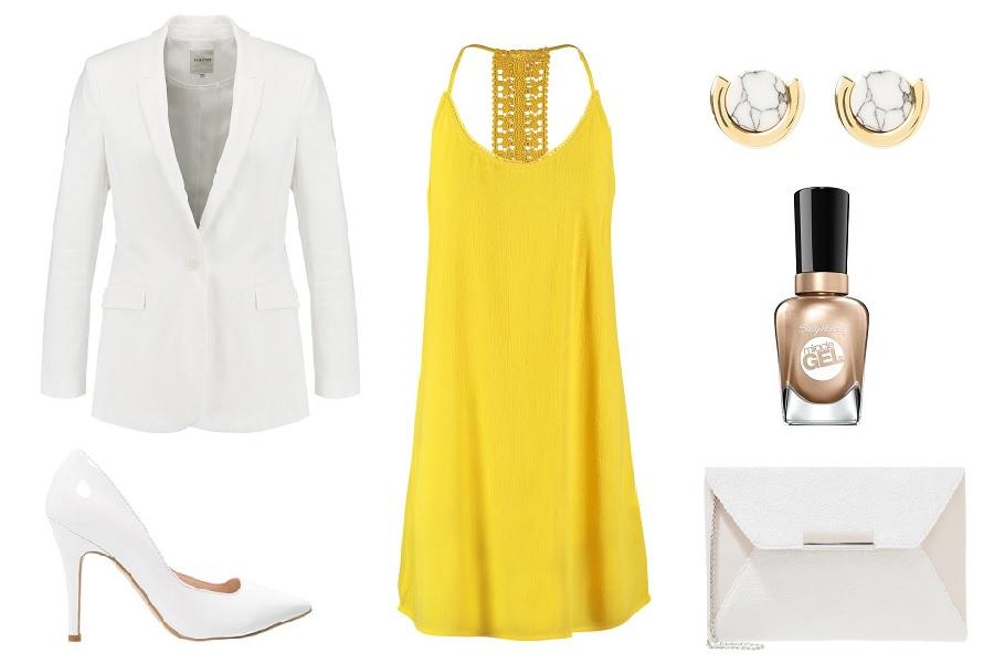 da00962b84284 Żółte sukienki na trzy sposoby - odkryj ciekawe zestawy