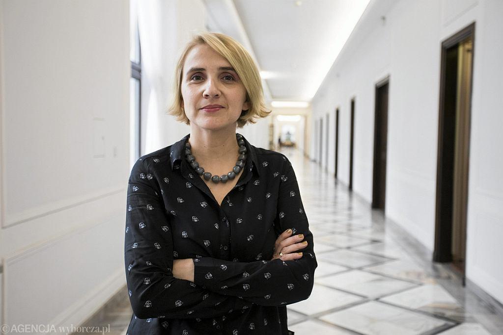 Poslanka Nowoczesnej Joanna Scheuring-Wielgus (fot. Adam Stępień/AG)
