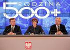 El�bieta Rafalska prezentuje szczeg�y programu Rodzina 500+