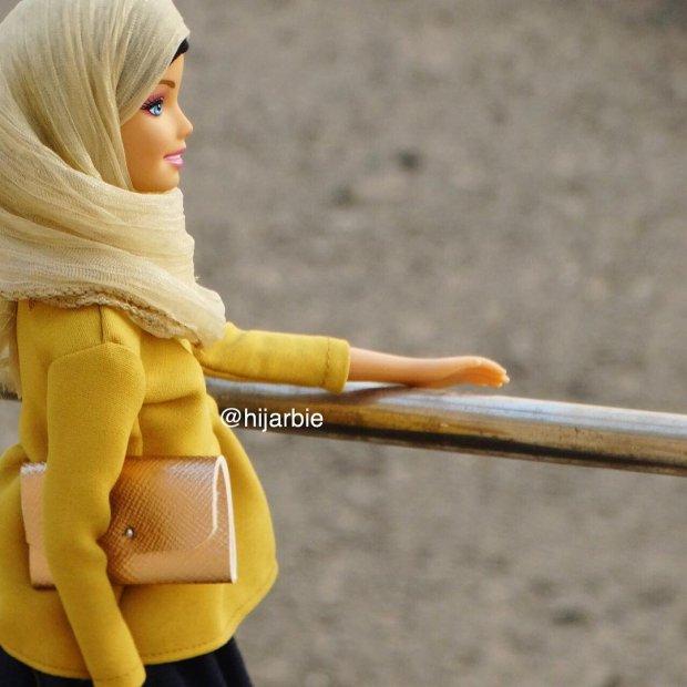 Hijarbie - Barbie ubrana jak muzułmanka podbija Instagram