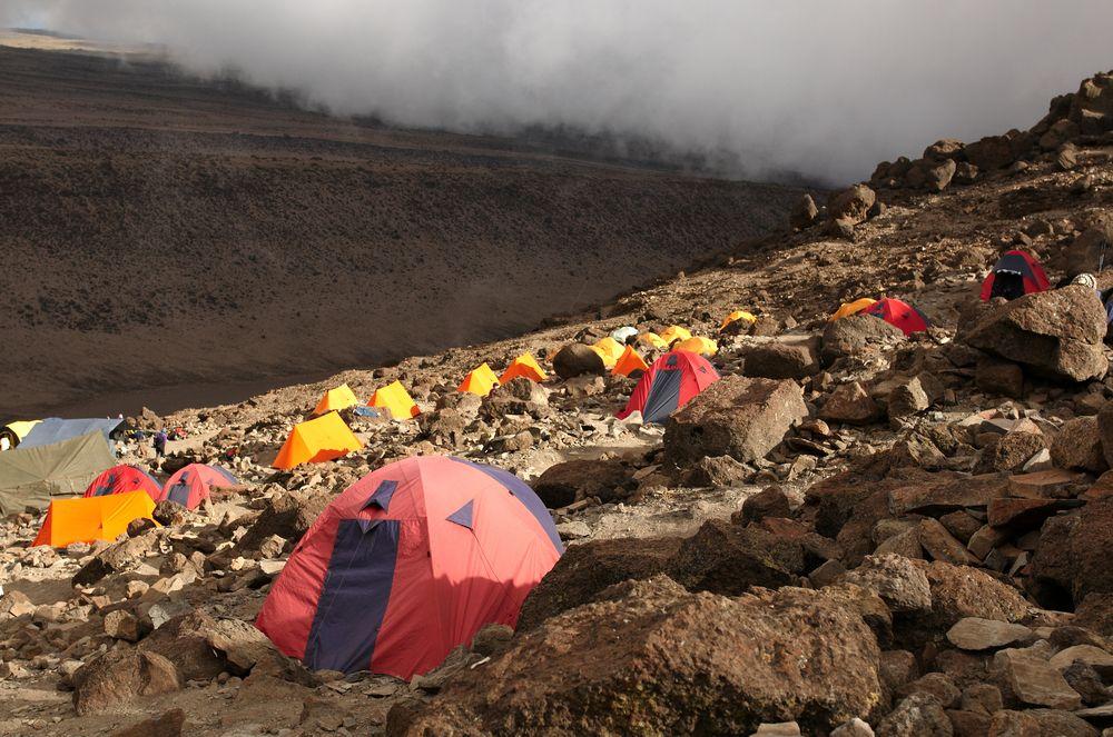 Baza pod Kilimand�aro, Tanzania / fot. Shutterstock