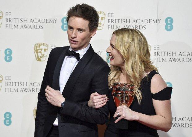 Eddie Redmayne i Kate Winslet