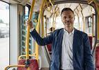 W poniedziałek Jarosław Wałęsa przez pół dnia jeździł po Gdańsku tramwajami, autobusami i SKM.