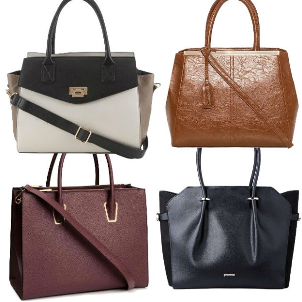 9267b6645ade7 Eleganckie i pojemne torebki do pracy - zdjęcie nr 1