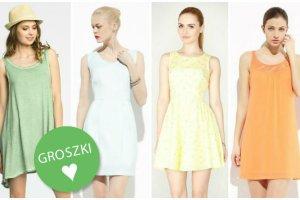 Przecenione sukienki z polskich sieci�wek w pastelowych kolorach - ponad 40 propozycji