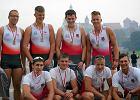 Wioślarze z Płocka popłynęli pod Wawelem i zdobyli cztery medale