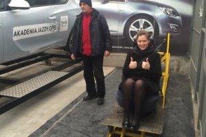Hamowanie w Akademii Jazdy Opel