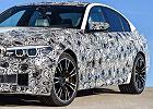 BMW M5 na pełnym gazie we Frankfurcie