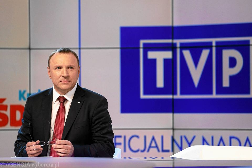 Prezes TVP z nadania PiS Jacek Kurski