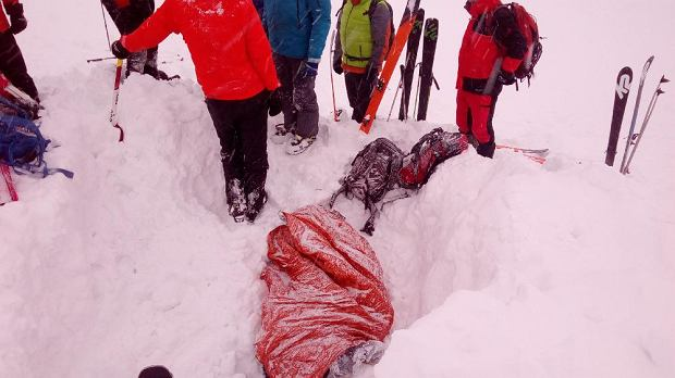 Tatry. W lawinie zginął polski skialpinista