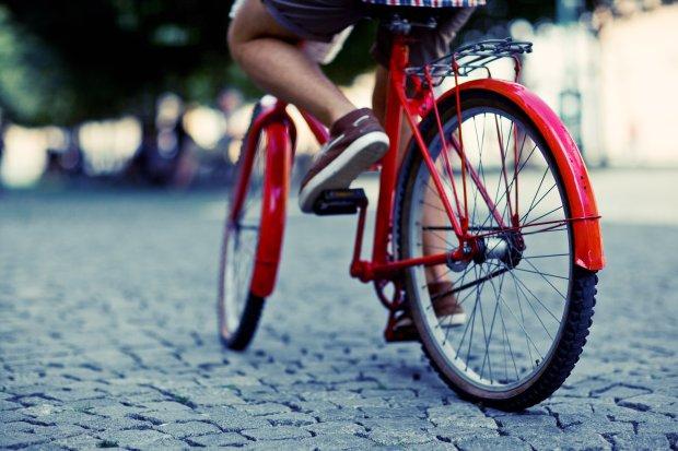 rowerem po mie�cie