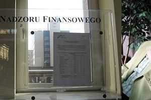 Nowe firmy na liście ostrzeżeń publicznych. KNF zawiadamia prokuraturę