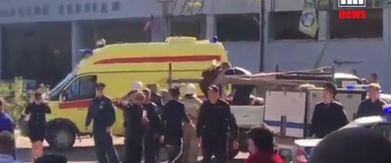 Wybuch w szkole na Krymie. Rosyjski Komitet Śledczy: To morderstwo, nie akt terroru