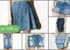 Jeansowe spódnice do 100 zł - 30 najładniejszych modeli