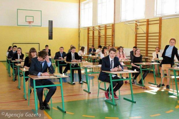 Pr�bny egzamin gimnazjalny 2015/2016 OPERON - jutro sprawdzian z j�zyka niemieckiego. Zobacz najtrudniejsze pytania z ubieg�ego roku