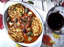 Racuszki India z passatą z pieczonych pomidorów i papryki - ugotuj