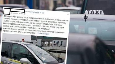 Nieuczciwi taksówkarze w Warszawie