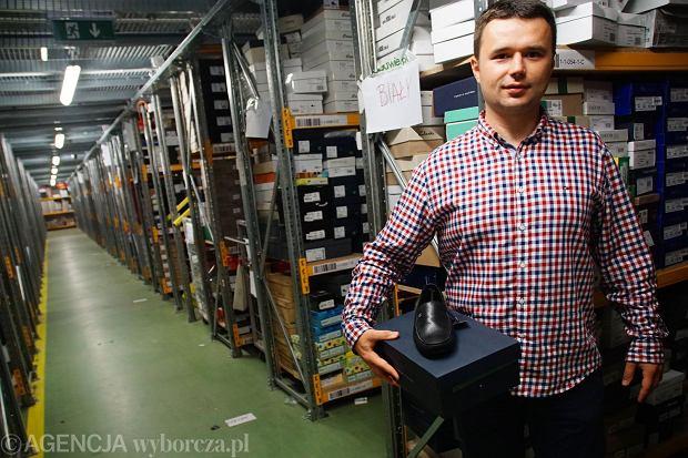 Marcin Grzymkowski, właściciel sklepu eobuwie.pl