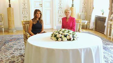 Melanie Trump in Poland