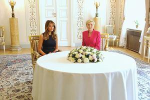 Donald Trump i Andrzej Duda na Zamku Królewskim. Co w tym czasie robią pierwsze damy?