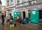 Nawałnice nad Polską: Zalania, uszkodzony gazociąg i lokomotywa [MAPA POGODY]
