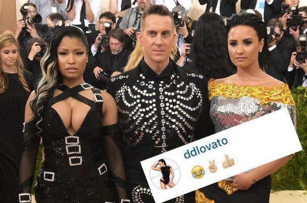 Demi Lovato w przeszłości wypowiadała się bardzo ciepło o Nicki Minaj. To, co wydarzyło się w mediach społecznościowych po Met Gali wskazuje na to, że przyjaźń się skończyła.