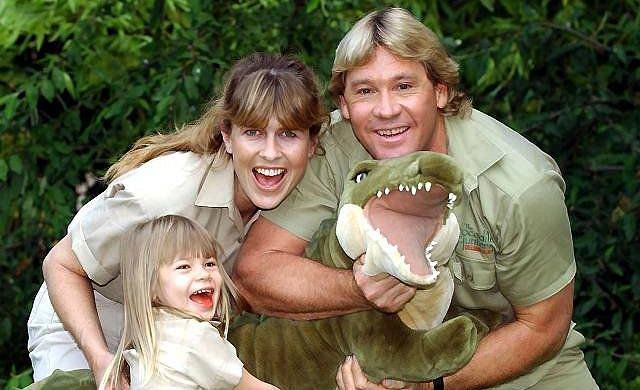 Steve Irwin, żona, córka