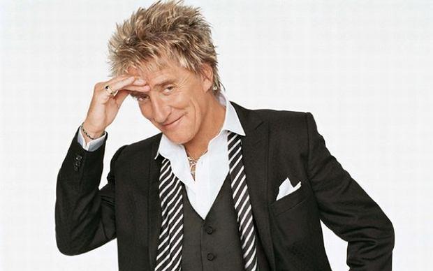 Rod Stewart kończy prace nad nowym albumem.