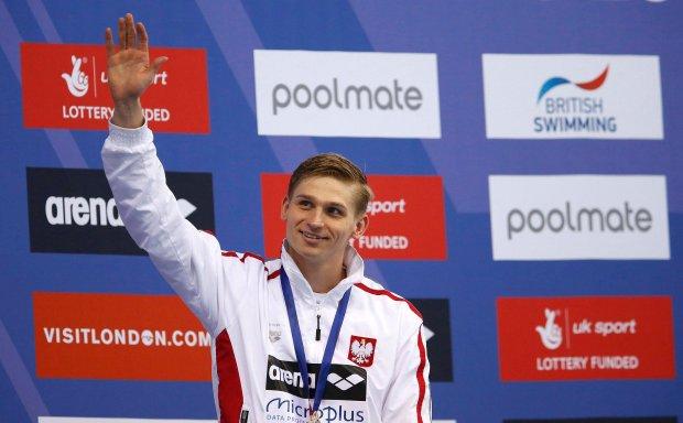 Rados�aw Kaw�cki mistrzem Europy na 200 metr�w stylem grzbietowym