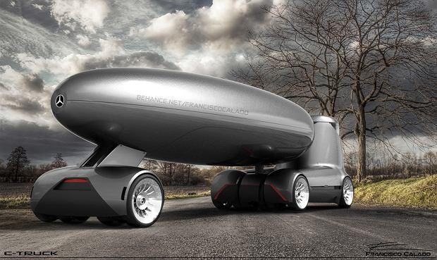Mercedes E-Truck Concept