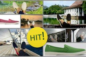 Rivieras Leisure Shoes - s�oneczne buty z Francji debiutuj� w Polsce
