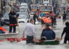 Powodzie we Francji: zamkni�ty Luwr, kilka tysi�cy os�b ewakuowanych