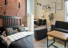 Mieszkanie z ciemnymi meblami w stylu skandynawskim - jak ożywić wnętrza?