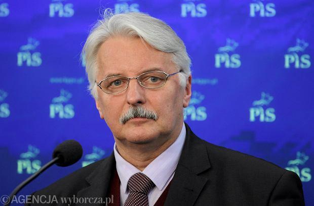 Minister Waszczykowski: Z tysi�cy Syryjczyk�w w Europie mo�na stworzy� wojsko jak kiedy� z Polak�w legiony