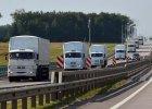 """Rosyjski konw�j z """"pomoc� humanitarn�"""" coraz bli�ej granicy z Ukrain�. Ma tam dojecha� wieczorem"""