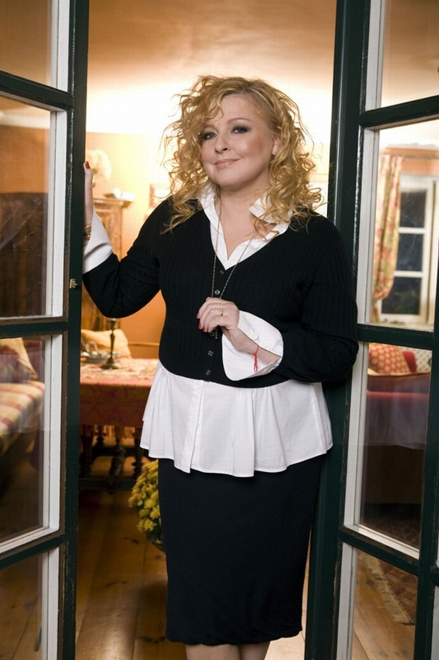 23.10.2008 n/z Magda Gessler w swoim domu  fot. Rafal Latoszek/FOTONOVA
