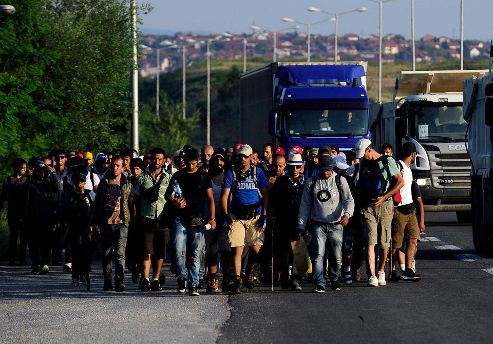 Imigranci z Syrii w Macedonii