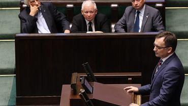 Zbigniew Ziobro, minister sprawiedliwości w rządzie PiS