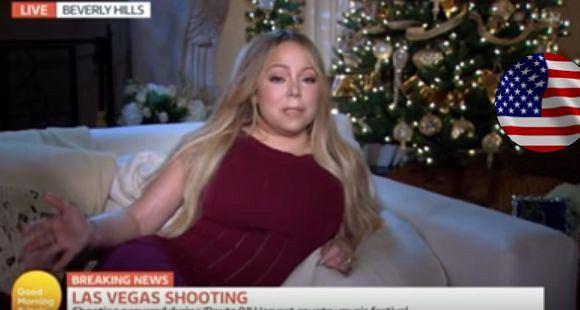 """Amerykańska wokalistka została """"przyparta"""" do muru przez dziennikarzy z Wielkiej Brytanii. Fani wytknęli Carey nonszalancję oraz brak szacunkua dla ofiar tragedii."""