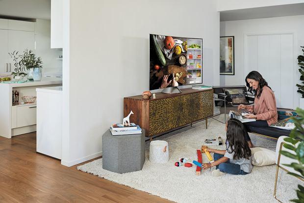Telewizory Smart TV Samsung QLED to prawdziwe centrum domowej rozrywki dzięki szeregowi  dostępnych aplikacji i funkcjom smart